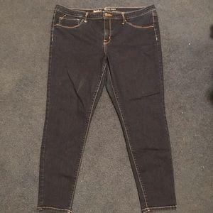 Mossimo dark was skinny jeans